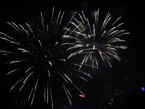 Feuerwerk Silvester 31. Dezember