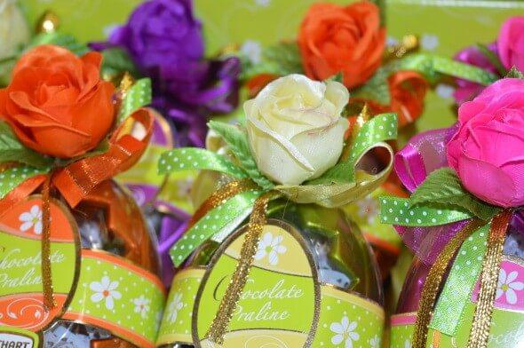 Schokoladen-Geschenk am Valentinstag